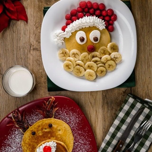 Hot cakes de Navidad