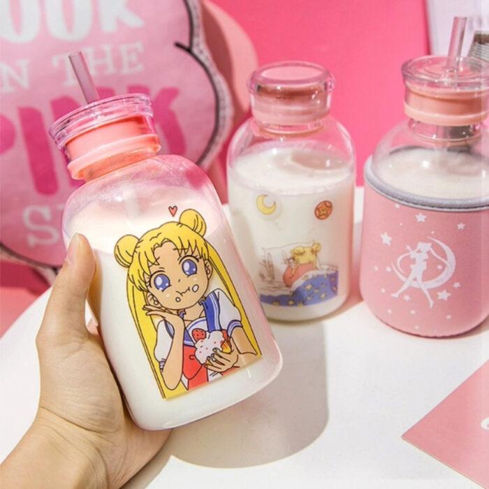 Regalos de Sailor Moon; botella