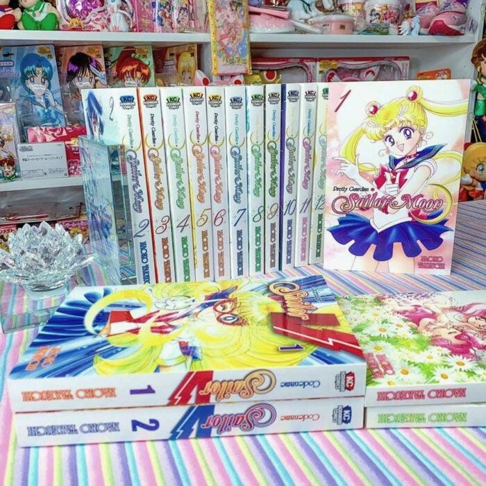 Regalos de Sailor Moon; serie de manga