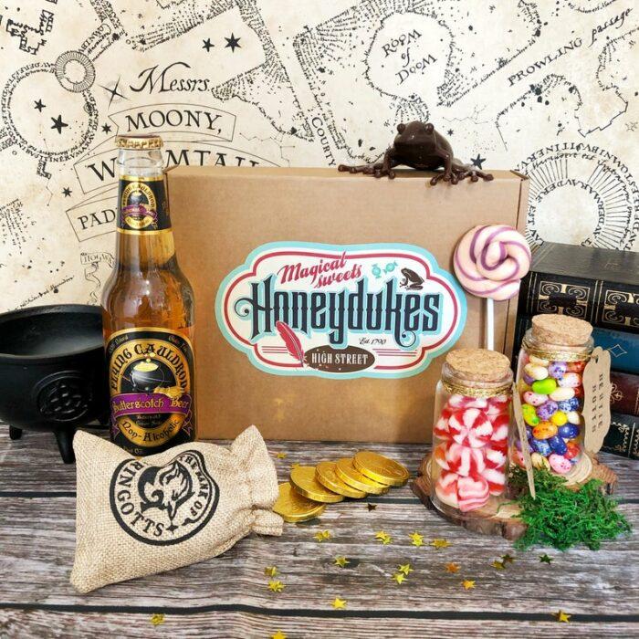 Caja de dulces de Honeydukes inspirada en Harry Potter
