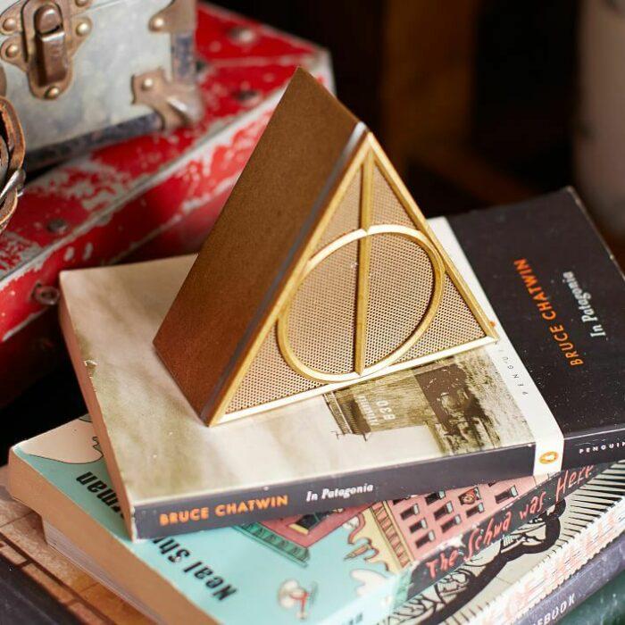 Lampara en forma de las reliquias de la muerte inspirada en Harry Potter