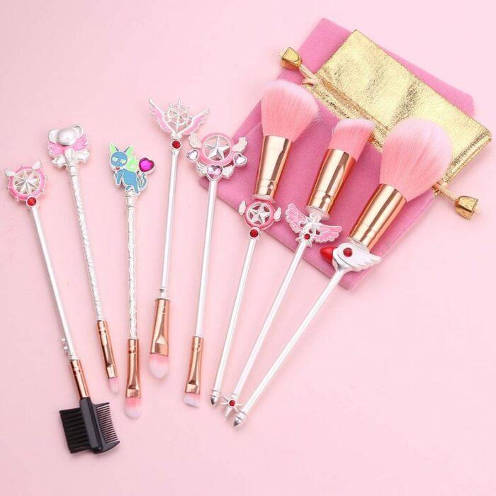 Brochas para maquillaje inspiradas en sakura card captor