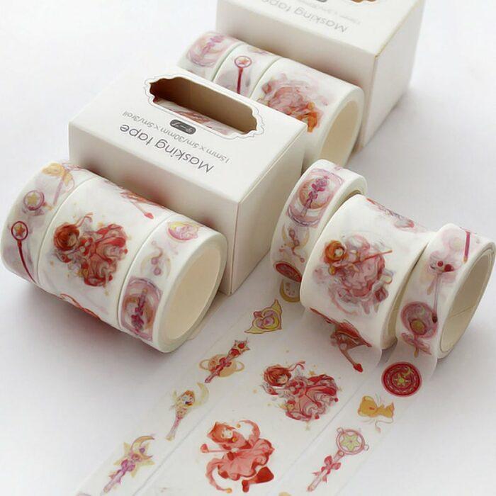 Cinta decorativa para notas inspirada en sakura card captor