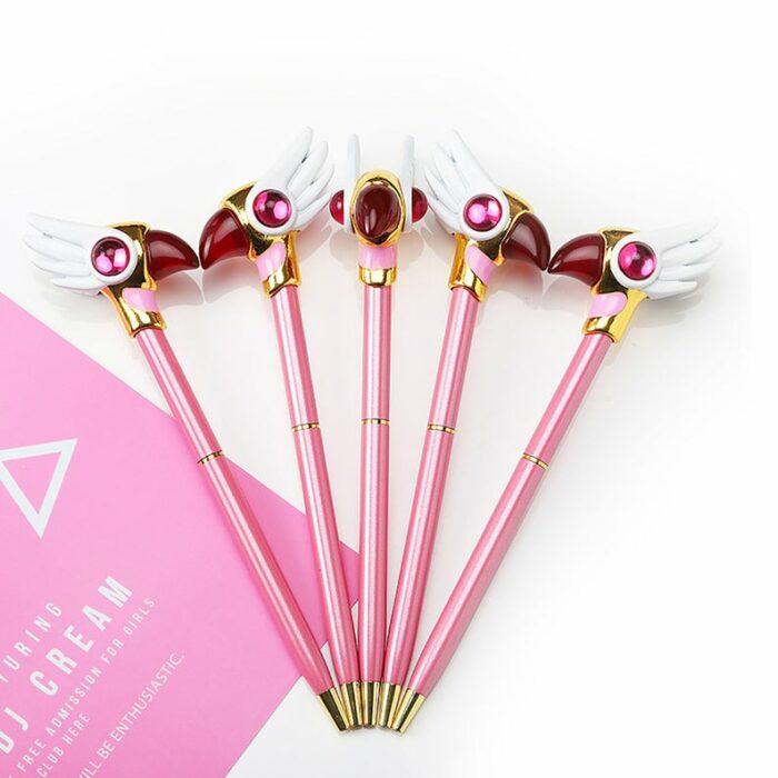 Bolígrafos inspirados en sakura card captor
