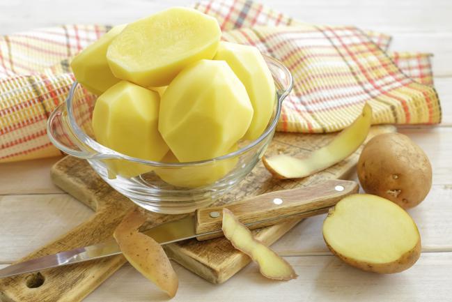 Potato juice to remove underarms; Natural medicine
