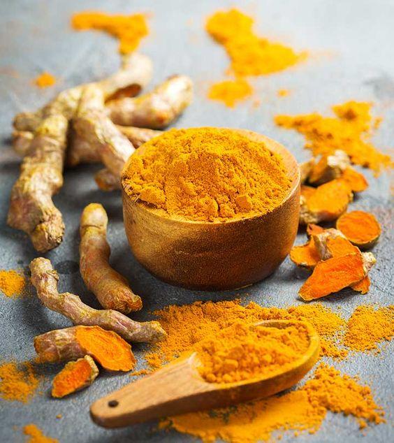 Turmeric powder to remove underarms; Natural medicine