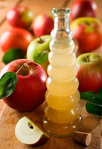Apple cider vinegar to remove underarms; Natural medicine