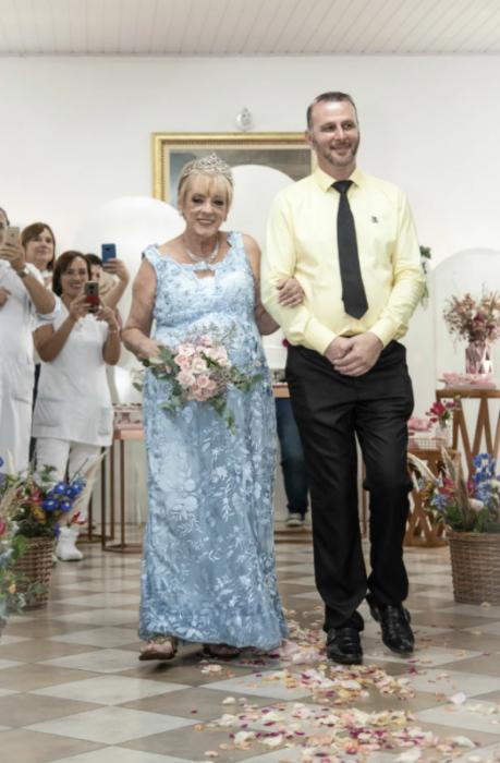 Boda Antonia Leni Crepaldi y Paulino dos Santos