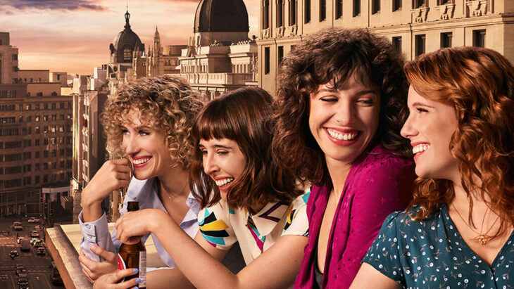 Escena promocional de la serie Valeria