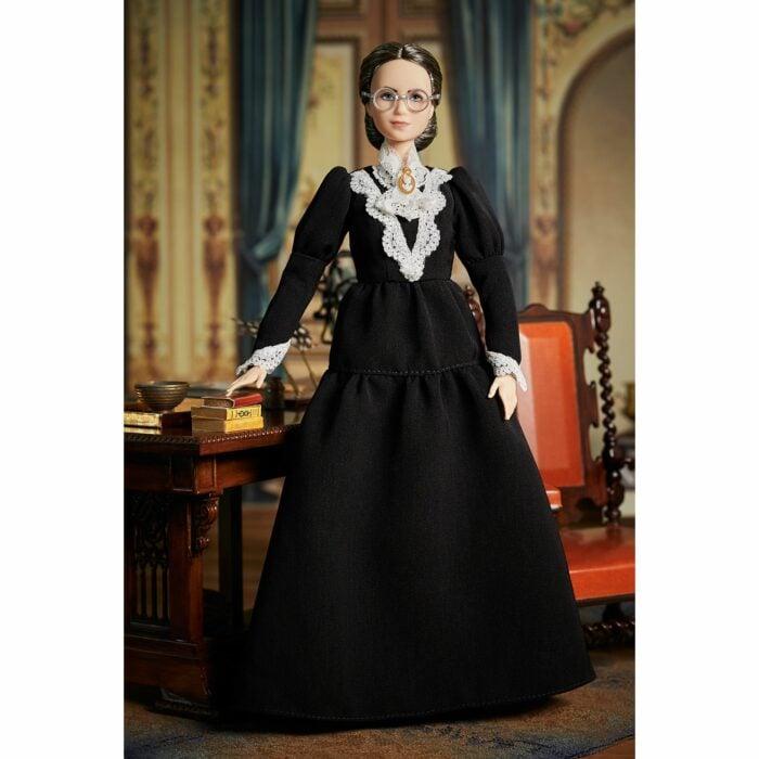 Muñeca Barbie inspirada en Susan B. Anthony