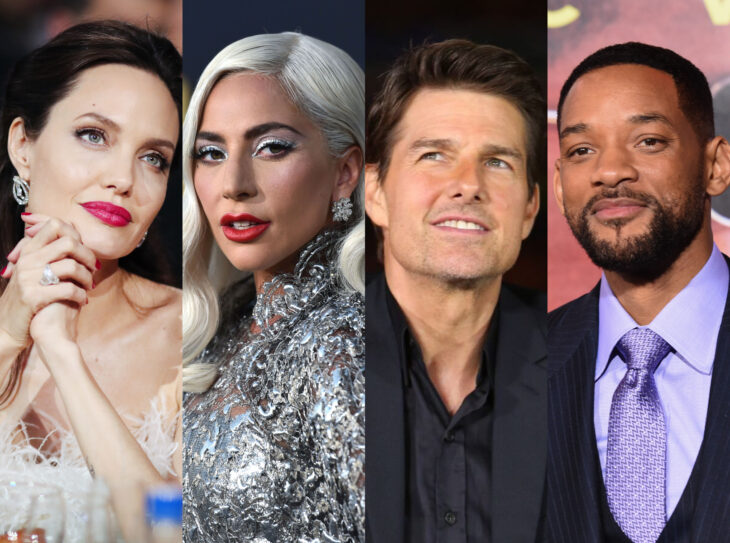 Teorías conspirativas de famosos; Angelina Jolie, Lady Gaga, Tom Cruise y Will Smith son Illuminati