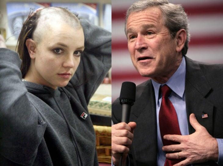 Teorías conspirativas de famosos; Britney Spears era cortina de humo de George Bush