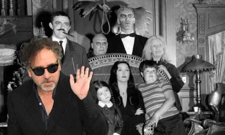 Tim Burton será el director de la serie de Los locos Addams