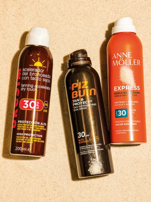 Protector solar en spray