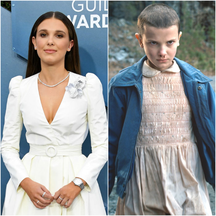 Millie Bobby Brown como Once