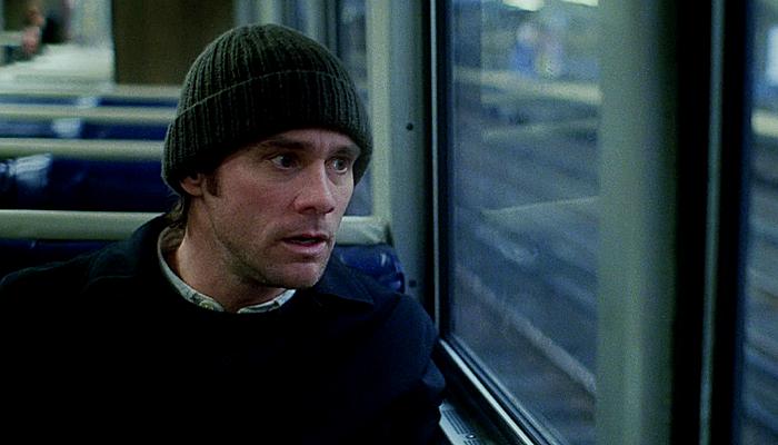 Jim Carrey en Eternal Sunshine Of The Spotless Mind