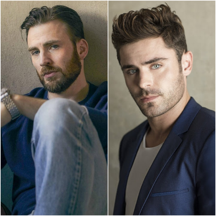 chris evans y zac efron