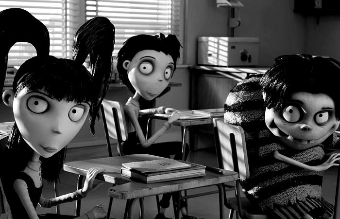 escena de la película Frankenweenie