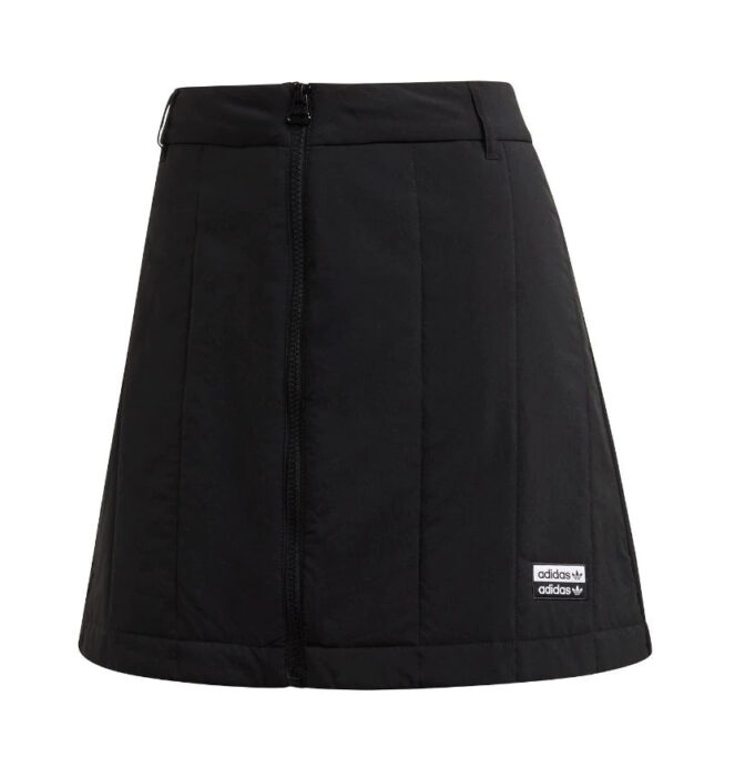 Black skirt of the Addidas brand