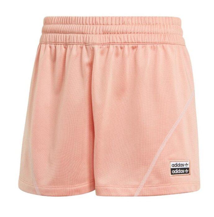 Shorts adidas de color salmón