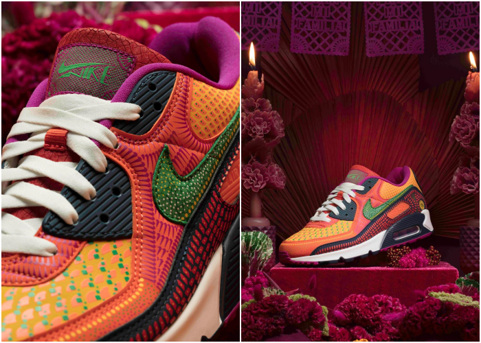 nike tennis shoes of the day of the dead