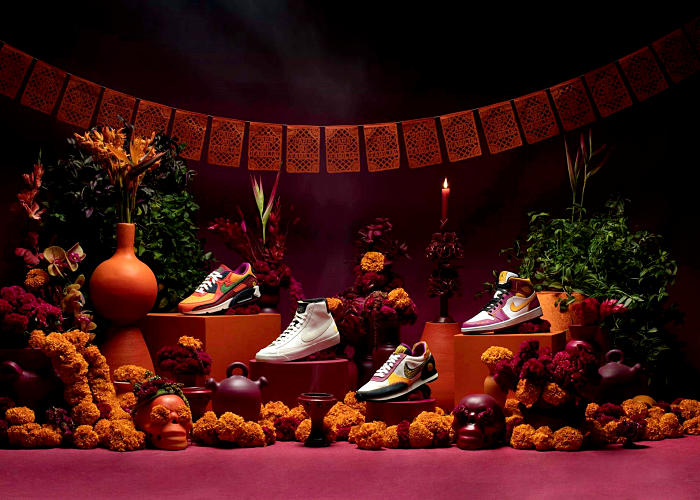Day of the Dead collection by Nike