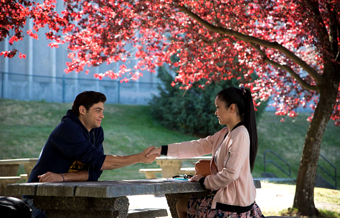 escena de to all the boys i've loved before