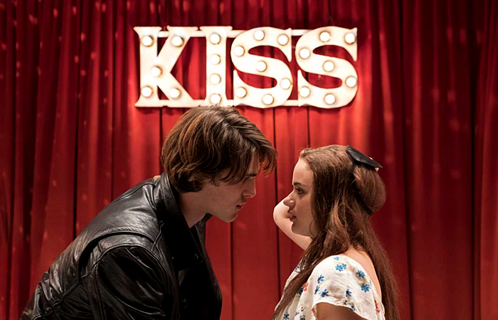 escena de the kissing booth