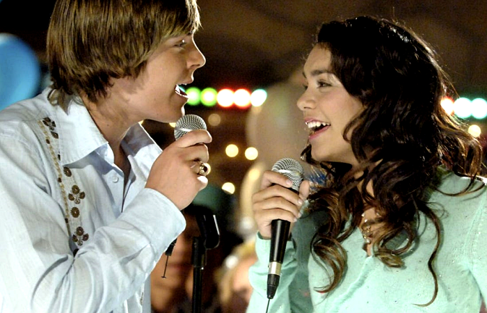 escena de high school musical