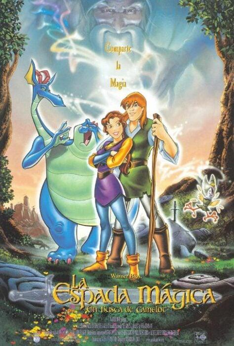 Poster de la película 'La espada mágica: La leyenda de Camelot'
