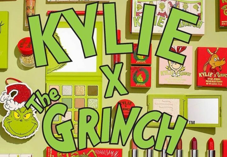 Kylie Cosmeticis makeup collection inspired by the 'The Grinch' movie