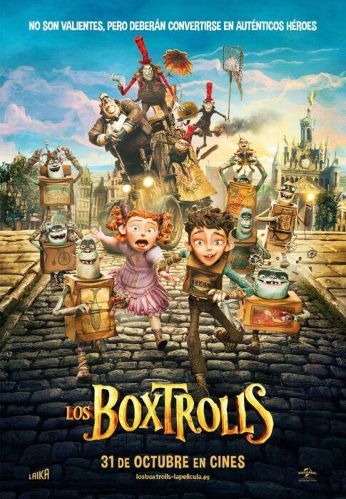 Poster de la película 'Los Boxtrolls'