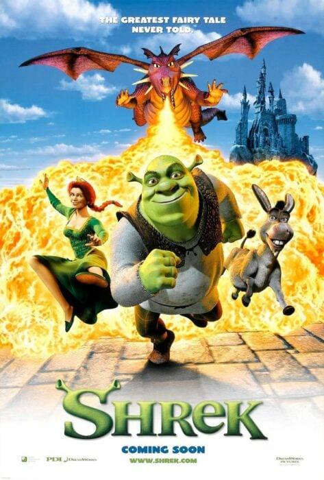 Poster de la película 'Shrek'
