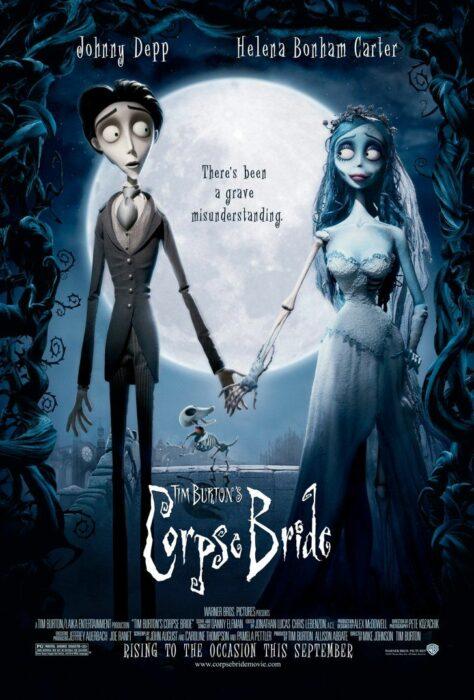 Poster de la película 'El cadáver de la novia'