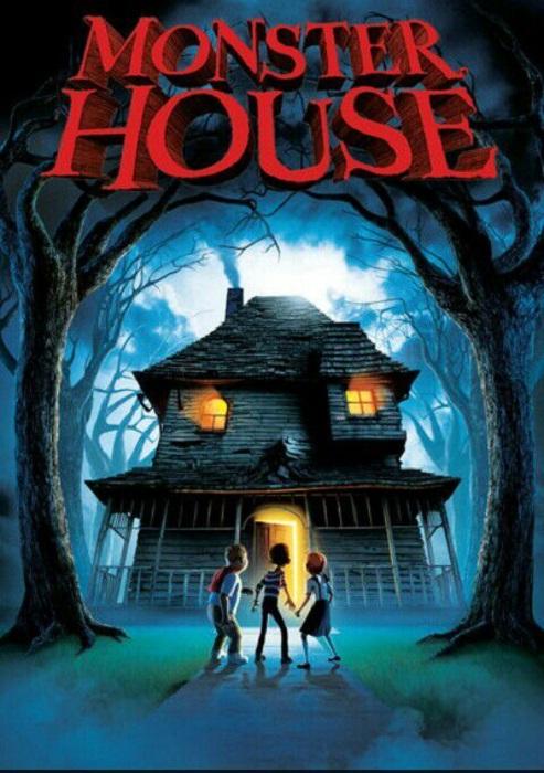 Poster de la película 'Monster House: La casa de los sustos'