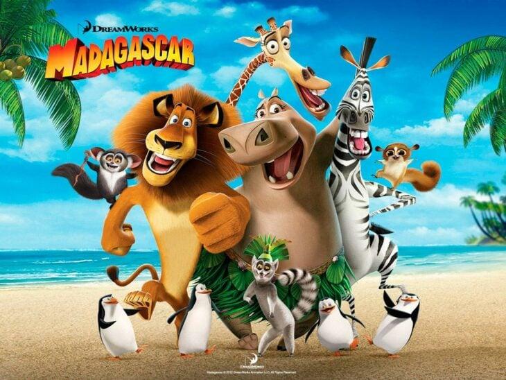 Poster de la película 'Madagascar'