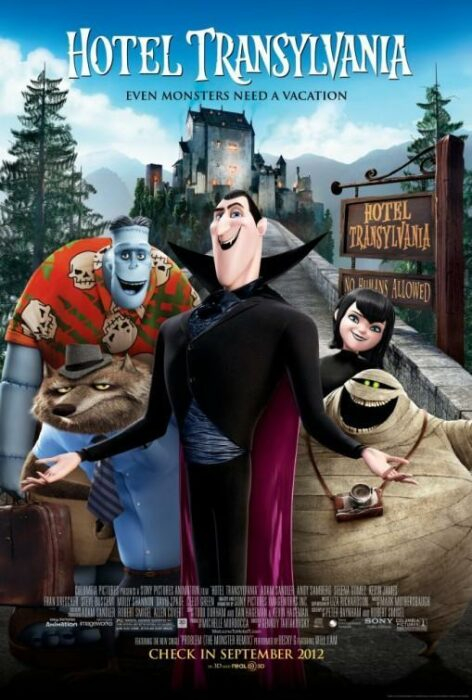 Poster de la película 'Hotel Transilvania'