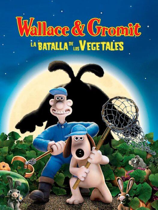 Poster de la película 'Wallace y Gromit: La batalla de los vegetales'
