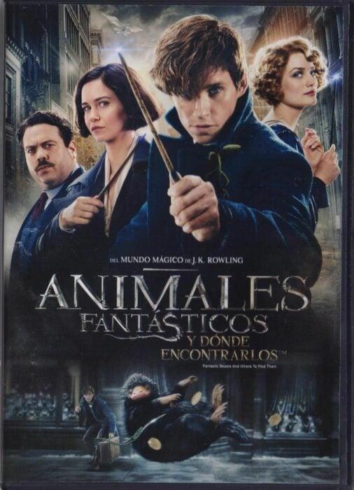 Poster de la película 'Animales fantásticos y donde encontrarlos'