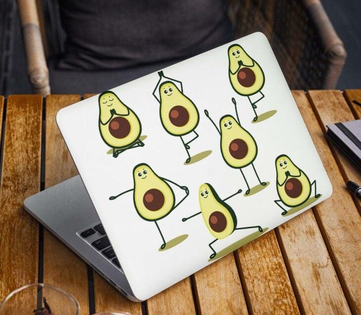 Laptop con estampado de aguacates; Artículos para las chicas que aman el aguacate