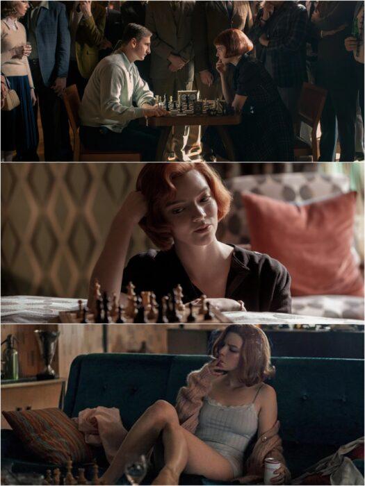 Anya Taylor-Joy en Gambito de dama; Razones para ver Gambito de dama