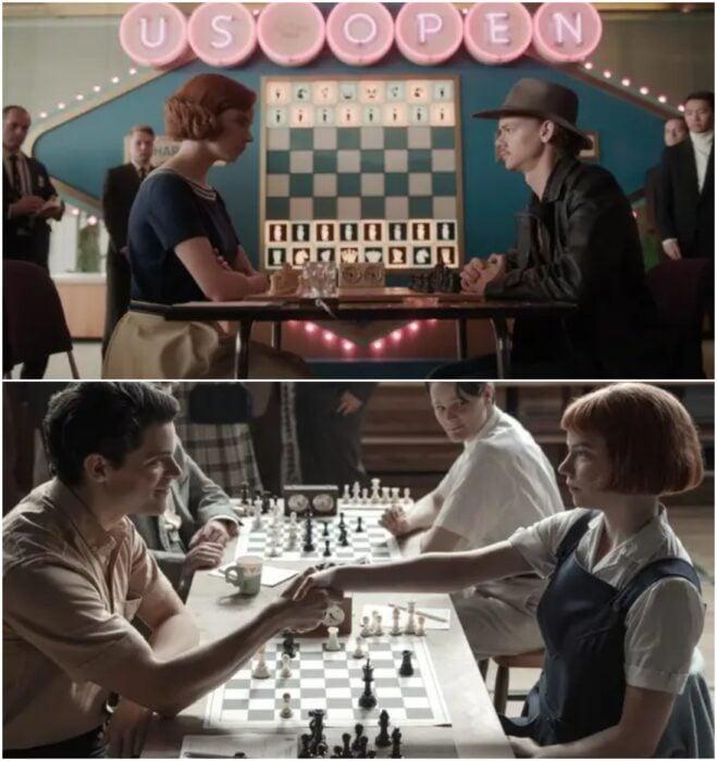 Partidas de juego de ajedrez en Gambito de dama; Razones para ver Gambito de dama