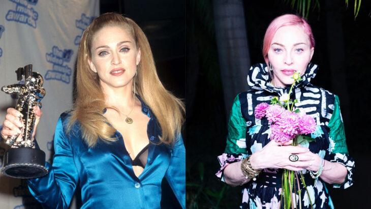 Comparación de Madonna en 1995 vs actualmente