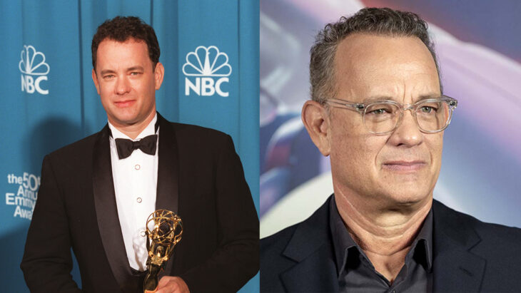 Comparación de Tom Hanks en 1995 vs actualmente