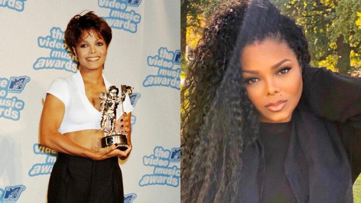 Comparación de Janeth Jackson en 1995 vs actualmente