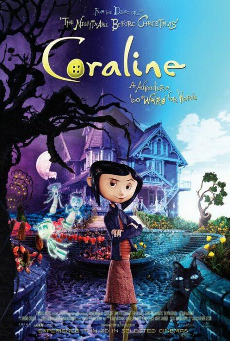 Poster de la película 'Coraline y la puerta secreta'