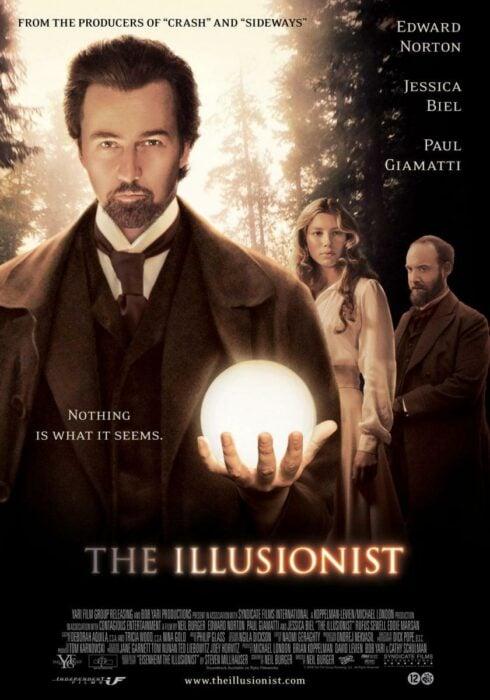 Poster de la película 'El ilusionista'