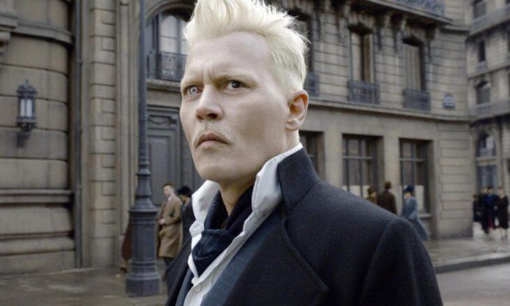 Escena de 'Animales fantásticos' donde aparece Grindelwald personificado por Johnny Deep