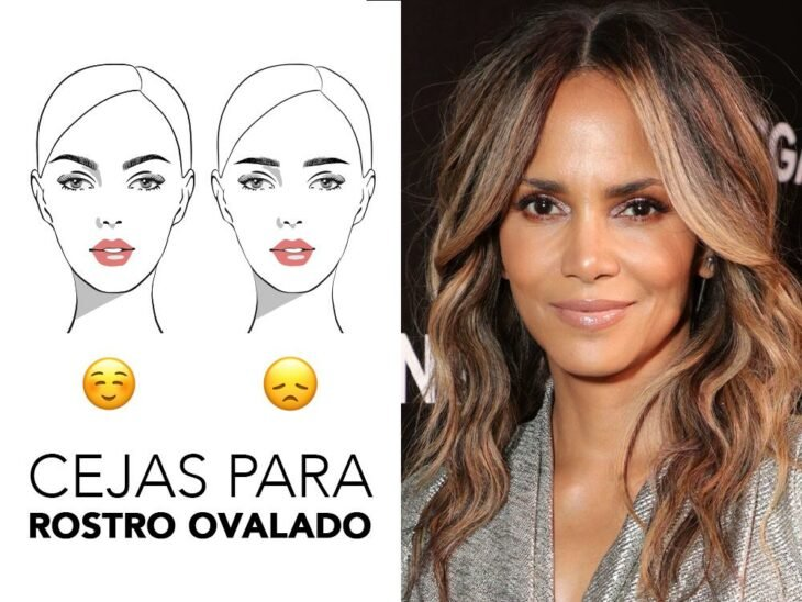 Halle Berry smiling and showing her brows; Quick guide to highlighting your brows based on your face shape
