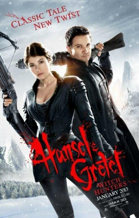 Poster de la película 'Hansel y Gretel: Cazadores de brujas'